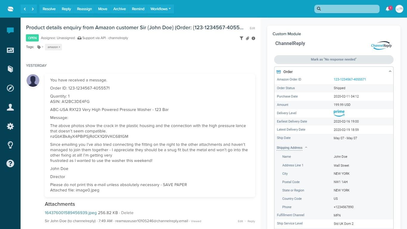 Re:amaze-Amazon Messaging