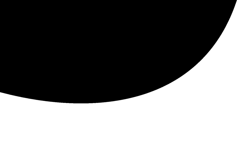 Grey Circle Cutaway Background