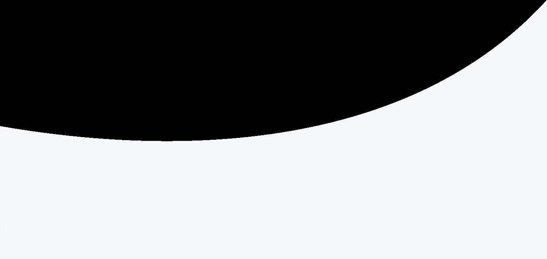 Flattened Grey Circle Cutaway Background
