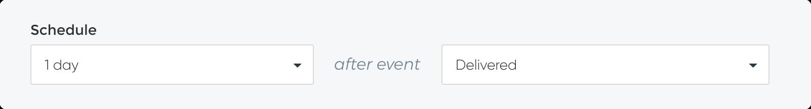 Scheduling Requests